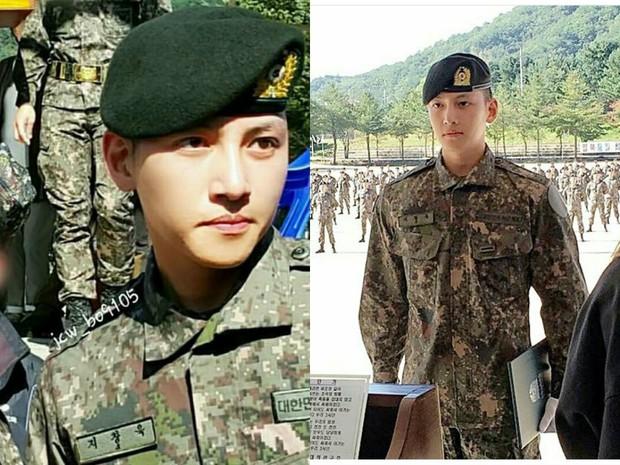 Dàn mỹ nam xứ Hàn khi vào quân ngũ: Người đẹp xuất sắc như đóng phim, kẻ xập xệ đến mức khó nhận ra - Ảnh 4.