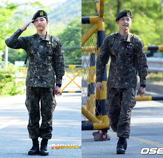 Dàn mỹ nam xứ Hàn khi vào quân ngũ: Người đẹp xuất sắc như đóng phim, kẻ xập xệ đến mức khó nhận ra - Ảnh 12.