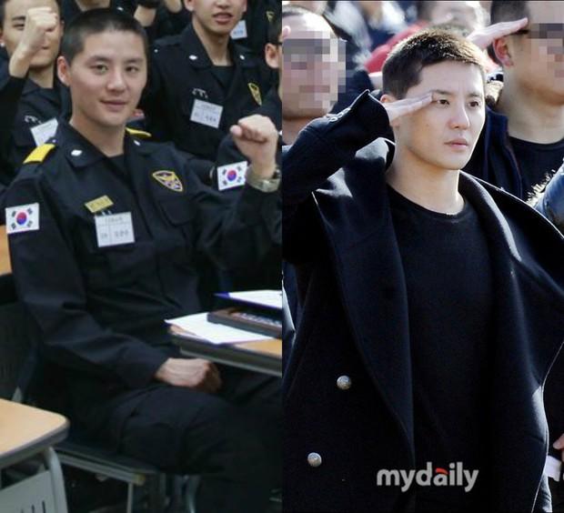 Dàn mỹ nam xứ Hàn khi vào quân ngũ: Người đẹp xuất sắc như đóng phim, kẻ xập xệ đến mức khó nhận ra - Ảnh 24.