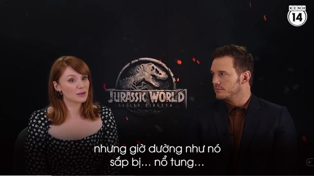 Clip độc quyền: Chris Pratt tự nhận phát ớn vì mặt thộn và thói mặc quần bó của chàng HLV khủng long - Ảnh 7.