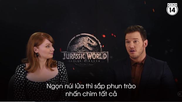 Clip độc quyền: Chris Pratt tự nhận phát ớn vì mặt thộn và thói mặc quần bó của chàng HLV khủng long - Ảnh 8.