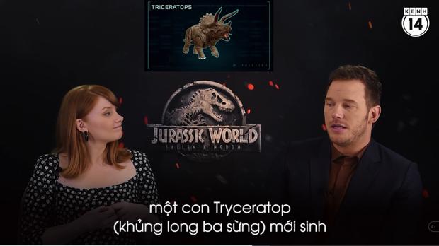 Clip độc quyền: Chris Pratt tự nhận phát ớn vì mặt thộn và thói mặc quần bó của chàng HLV khủng long - Ảnh 10.