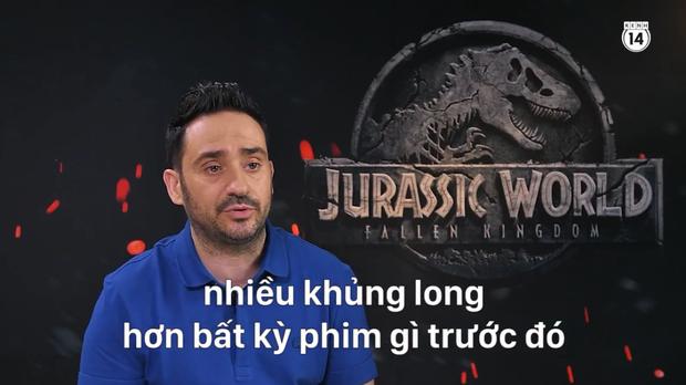 Clip độc quyền: Chris Pratt tự nhận phát ớn vì mặt thộn và thói mặc quần bó của chàng HLV khủng long - Ảnh 15.