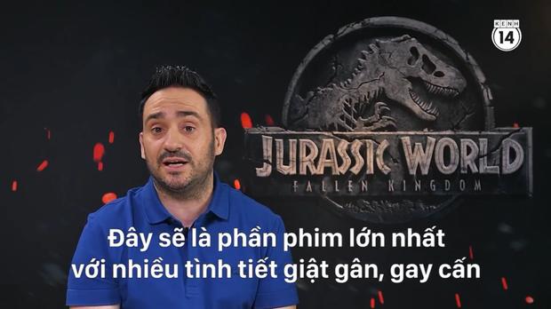 Clip độc quyền: Chris Pratt tự nhận phát ớn vì mặt thộn và thói mặc quần bó của chàng HLV khủng long - Ảnh 17.