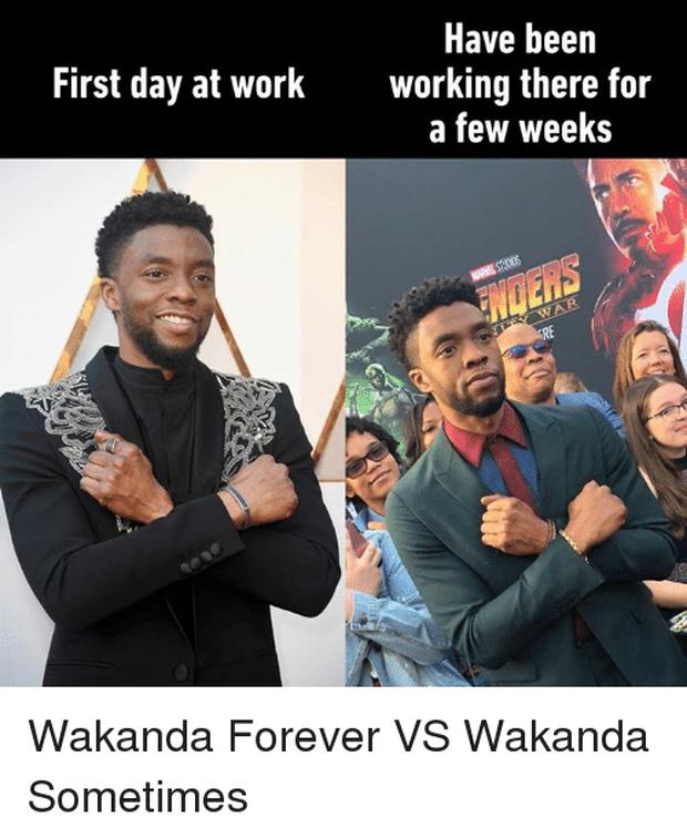 Trên phim xưng hùng xưng bá là thế, chàng Báo Đen về nhà vẫn phải chào mẹ bằng nghi thức Wakanda - Ảnh 3.