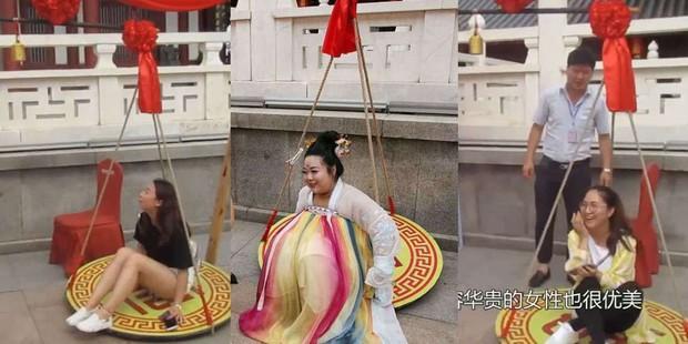Công viên Trung Quốc miễn phí vé vào cửa cho những cô gái nặng trên 61,8 cân với thông điệp phúc hậu mới là vẻ đẹp chuẩn mực - Ảnh 2.
