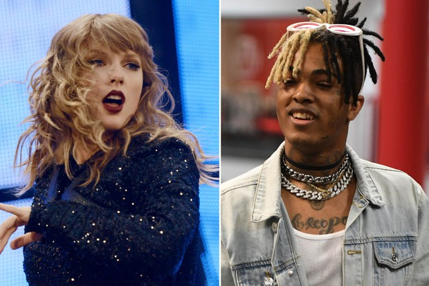 Rapper vừa qua đời XXXTentacion phá tan kỷ lục của Rắn Chúa Taylor Swift - Ảnh 1.