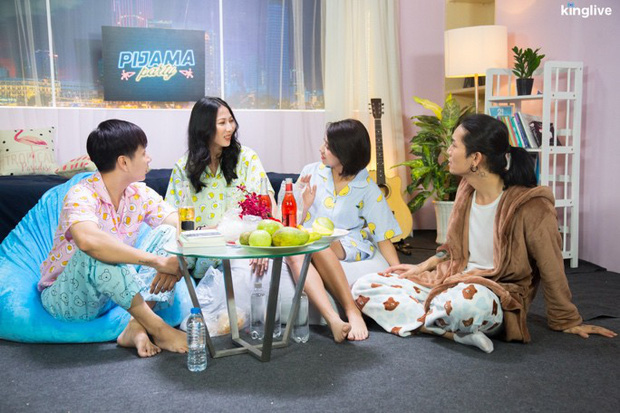 Pijama Party: BB Trần, Lou Hoàng rủ nhau phá hit của Ưng Hoàng Phúc, Phạm Quỳnh Anh - Ảnh 1.