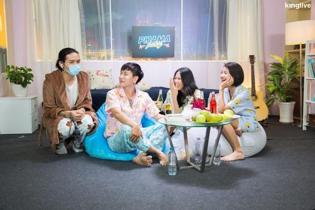 Pijama Party: BB Trần, Lou Hoàng rủ nhau phá hit của Ưng Hoàng Phúc, Phạm Quỳnh Anh - Ảnh 4.