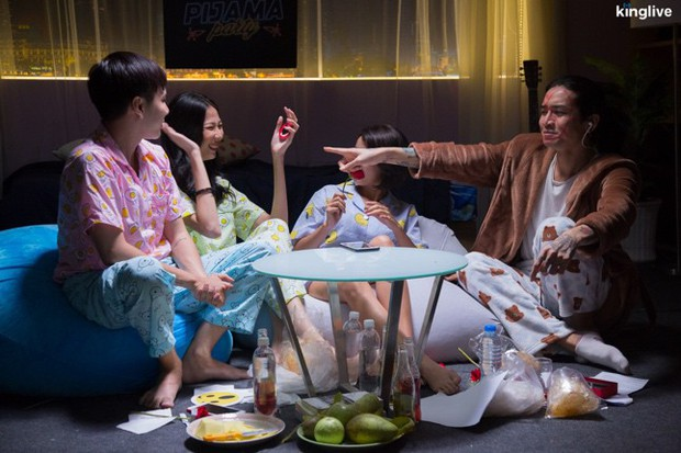 Pijama Party: BB Trần, Lou Hoàng rủ nhau phá hit của Ưng Hoàng Phúc, Phạm Quỳnh Anh - Ảnh 14.