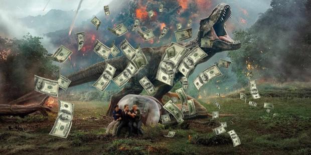 Khủng long thống trị phòng vé Bắc Mỹ với 150 triệu đô mở màn - Ảnh 2.