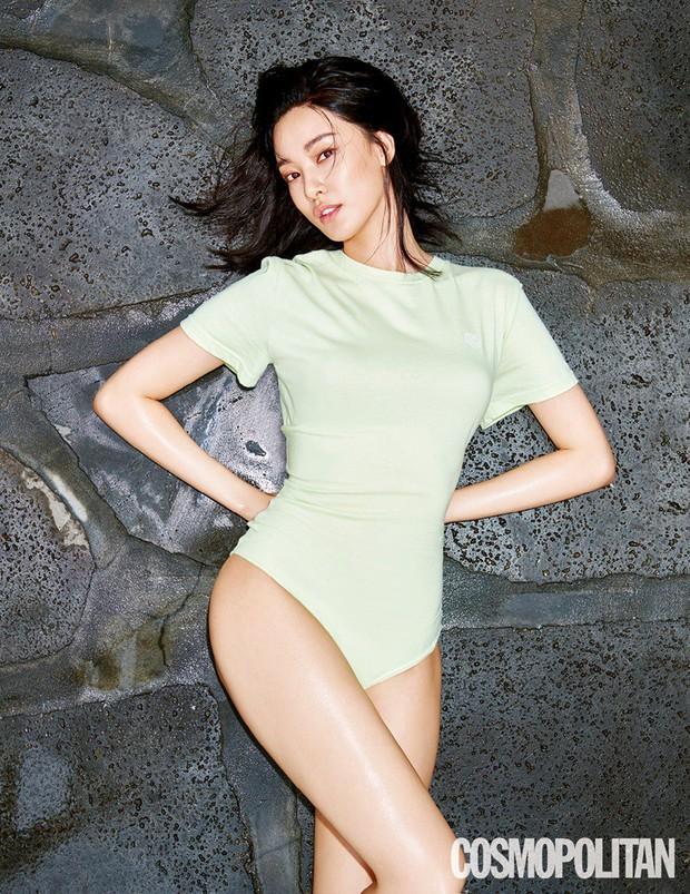 Bạn gái G-Dragon gây sốt vì diện đồ tắm khoe vòng 1 nóng bỏng trên tạp chí, nhưng lại bất ngờ bị tố dao kéo - Ảnh 2.