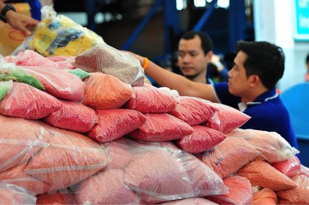 Các nước Đông Nam Á tổ chức tiêu hủy khối lượng lớn ma túy - Ảnh 1.