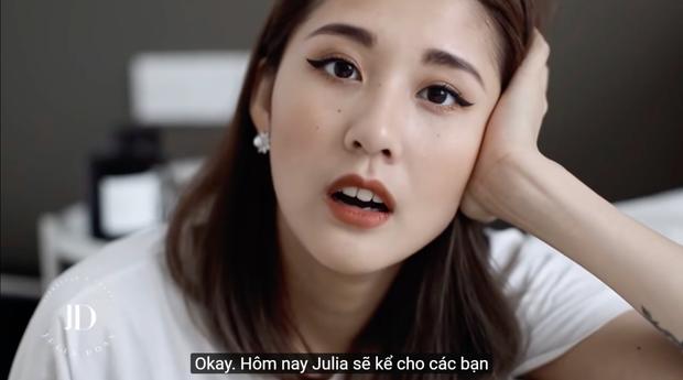 Xuất hiện trong vlog mới, Julia Đoàn không kiềm được nước mắt khi nói về cảm giác lần đầu được làm mẹ - Ảnh 3.