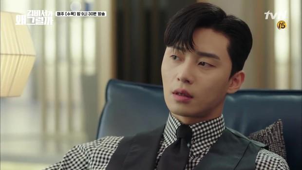 Thư Ký Kim tập 7: Hiếm có nam phụ phim Hàn nào ngứa mắt như anh trai của Park Seo Joon! - Ảnh 5.