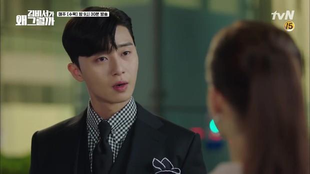 Thư Ký Kim tập 7: Hiếm có nam phụ phim Hàn nào ngứa mắt như anh trai của Park Seo Joon! - Ảnh 16.