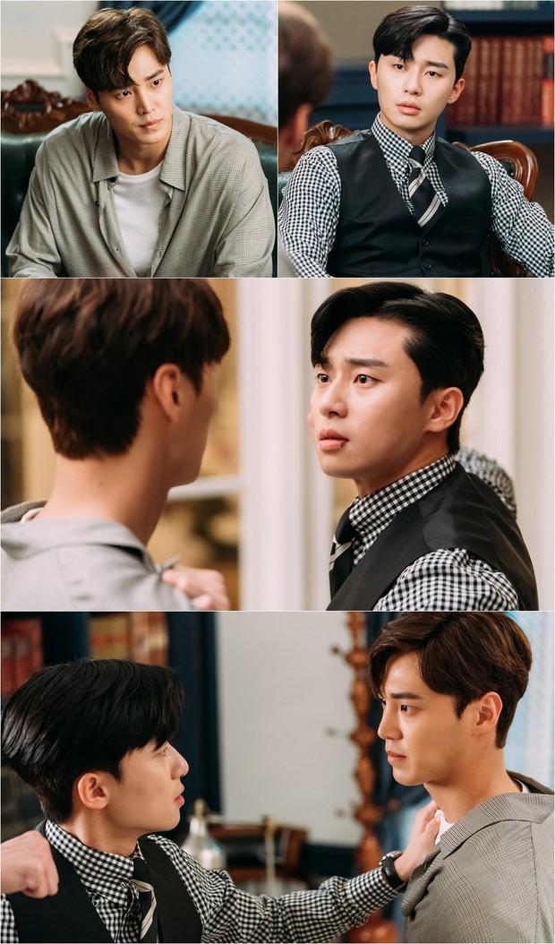 Thư Ký Kim tập 7: Hiếm có nam phụ phim Hàn nào ngứa mắt như anh trai của Park Seo Joon! - Ảnh 1.