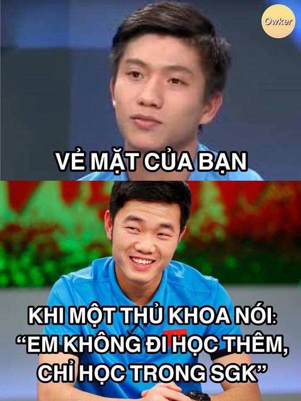 U23 Việt Nam: Không đi thi mà cũng bị dân mạng mang ảnh 50 sắc thái ra chế cháo - Ảnh 11.