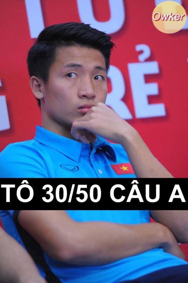 U23 Việt Nam: Không đi thi mà cũng bị dân mạng mang ảnh 50 sắc thái ra chế cháo - Ảnh 23.