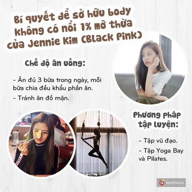 Bí quyết gì giúp Jennie Kim (Black Pink) duy trì được vóc dáng tuyệt hảo không có nổi 1% mỡ thừa? - Ảnh 5.
