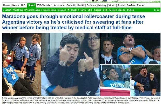 Báo quốc tế quên luôn VAR, ngất ngây khen phép màu Messi, Rojo - Ảnh 2.