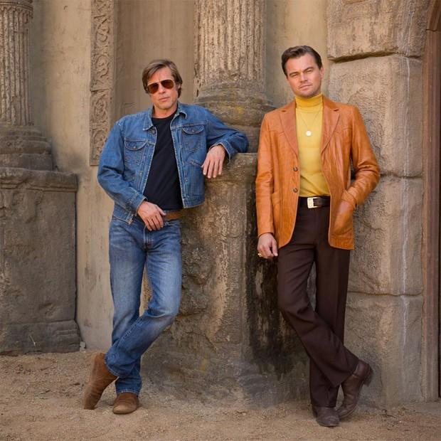 Leonardo DiCaprio và Brad Pitt - Hai gã lãng tử bậc nhất Hollywood bất ngờ hồi xuân làm dân tình dậy sóng - Ảnh 1.
