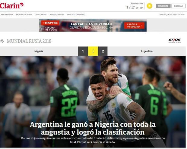 Báo quốc tế quên luôn VAR, ngất ngây khen phép màu Messi, Rojo - Ảnh 5.