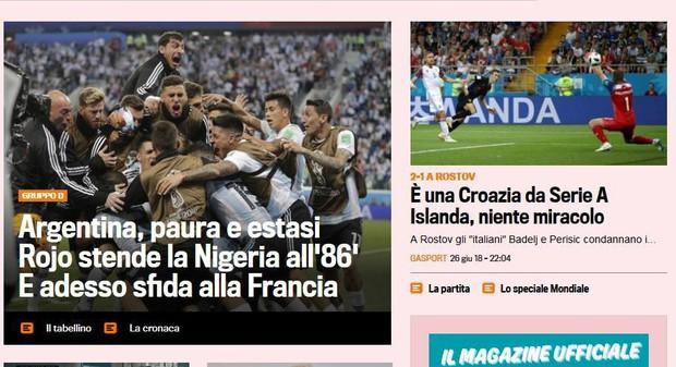 Báo quốc tế quên luôn VAR, ngất ngây khen phép màu Messi, Rojo - Ảnh 8.