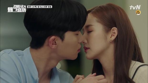 Thư Ký Kim: Gian nan đủ đường, đôi chính cuối cùng đã hôn nhau đầy mãnh liệt - Ảnh 2.
