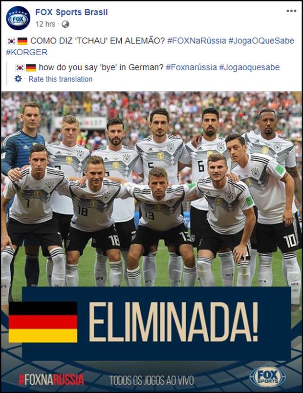 Sau khi cười HAHA vì Đức về nước, fanpage Fox Sports Brasil vẫn liên tục đăng ảnh trêu cho đã thì thôi - Ảnh 4.