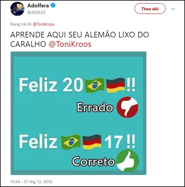 Trai đẹp Toni Kroos bị dân mạng đào mộ status nói xấu Brazil, đồng loạt chế giễu sau khi Đức thua - Ảnh 4.