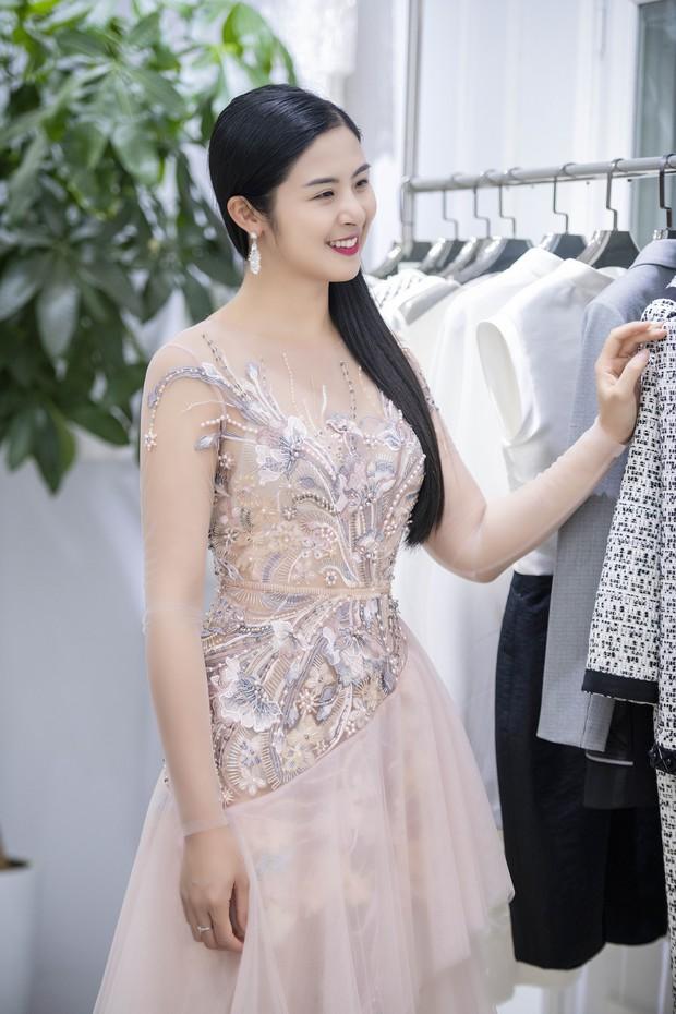 Á hậu Tú Anh ngày càng đẹp trước đám cưới, cùng Đỗ Mỹ Linh và dàn Hoa hậu tới thử đồ cho show của NTK Hà Duy - Ảnh 6.