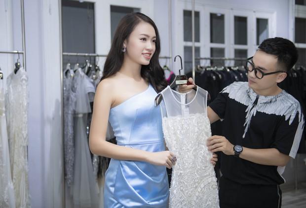 Á hậu Tú Anh ngày càng đẹp trước đám cưới, cùng Đỗ Mỹ Linh và dàn Hoa hậu tới thử đồ cho show của NTK Hà Duy - Ảnh 10.