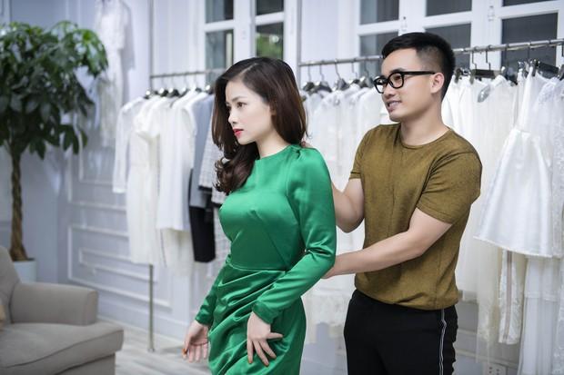 Á hậu Tú Anh ngày càng đẹp trước đám cưới, cùng Đỗ Mỹ Linh và dàn Hoa hậu tới thử đồ cho show của NTK Hà Duy - Ảnh 12.