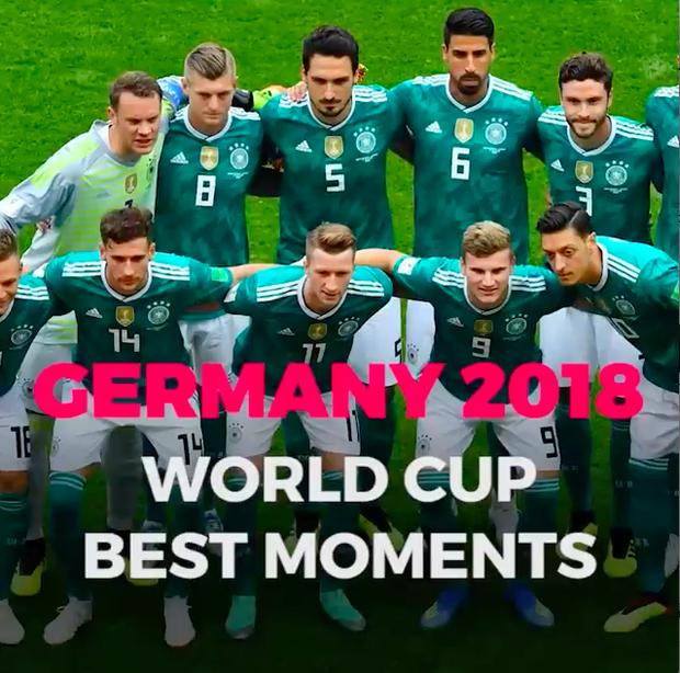 Video hot nhất ngày: Khoảnh khắc đẹp nhất của đội tuyển Đức tại World Cup 2018 - Ảnh 2.