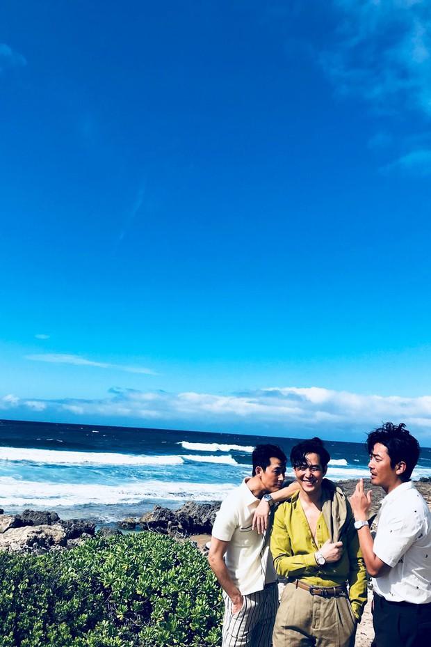 Hình hậu trường khó tin của 3 ông chú độc thân hấp dẫn nhất xứ Hàn: Đẹp như phim, các tài tử trẻ còn phải chạy dài - Ảnh 8.