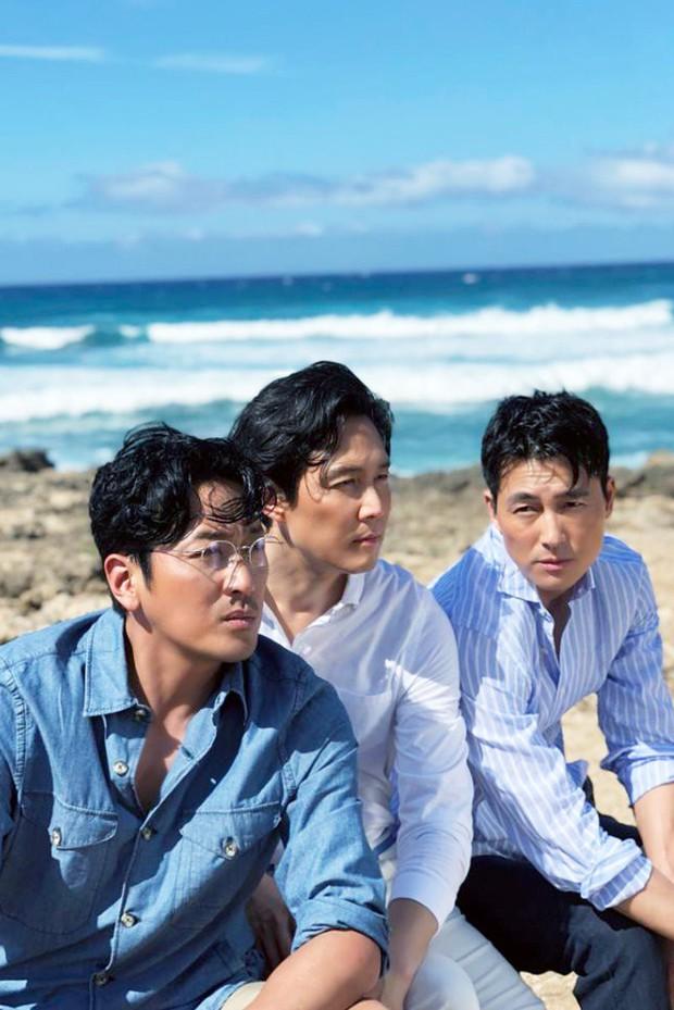Hình hậu trường khó tin của 3 ông chú độc thân hấp dẫn nhất xứ Hàn: Đẹp như phim, các tài tử trẻ còn phải chạy dài - Ảnh 5.