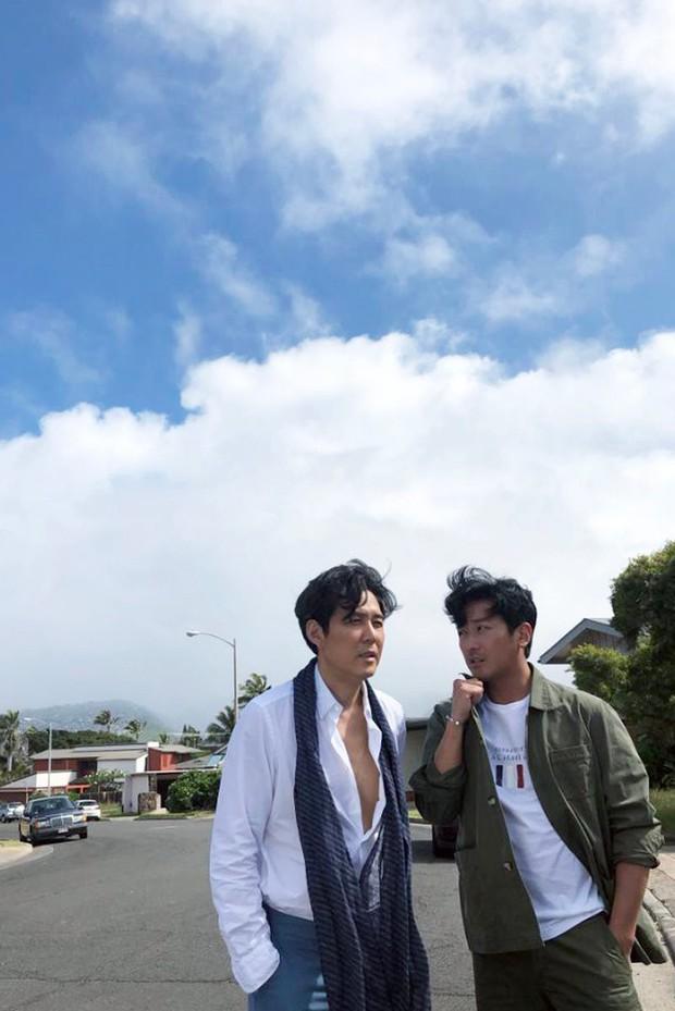 Hình hậu trường khó tin của 3 ông chú độc thân hấp dẫn nhất xứ Hàn: Đẹp như phim, các tài tử trẻ còn phải chạy dài - Ảnh 7.