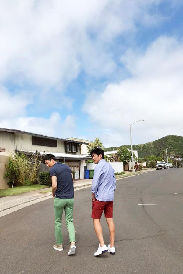 Hình hậu trường khó tin của 3 ông chú độc thân hấp dẫn nhất xứ Hàn: Đẹp như phim, các tài tử trẻ còn phải chạy dài - Ảnh 22.