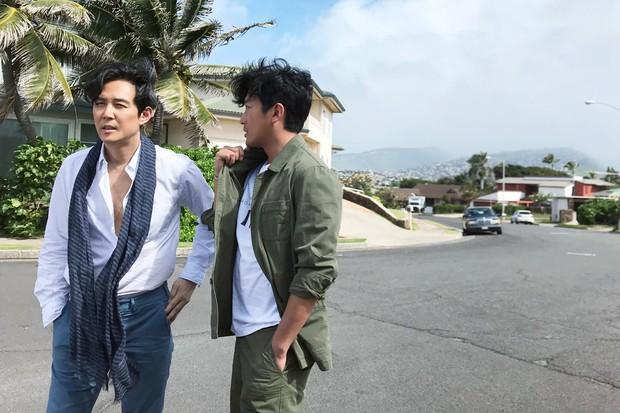 Hình hậu trường khó tin của 3 ông chú độc thân hấp dẫn nhất xứ Hàn: Đẹp như phim, các tài tử trẻ còn phải chạy dài - Ảnh 6.