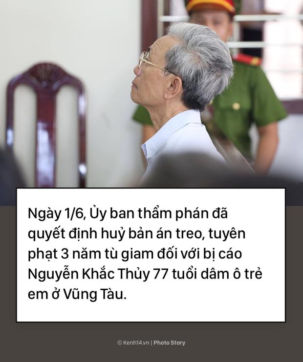 Vụ Nguyễn Khắc Thủy: Từ 18 tháng tù treo đến 3 năm tù tội dâm ô trẻ - Ảnh 1.