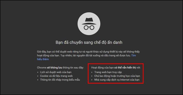 Tỉnh lại đi, chế độ duyệt web ẩn danh trên Google Chrome không thực sự ẩn danh như bạn nghĩ đâu! - Ảnh 1.