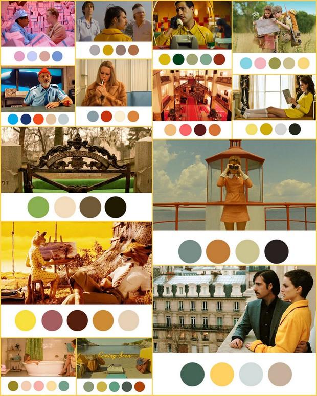 Để cảm xúc đưa lối qua bảng màu dị thường từ phù thuỷ hình ảnh Wes Anderson - Ảnh 23.