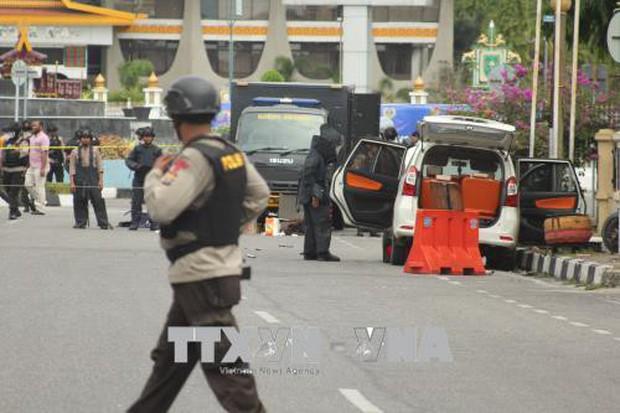 Đánh bom bất thành tại một trường đại học Indonesia - Ảnh 1.