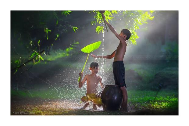 Bộ ảnh làng mạc Việt Nam trong lành mát rượi của một thầy giáo cấp 3 khiến dân tình ào ào về quê dịp cuối tuần - Ảnh 6.