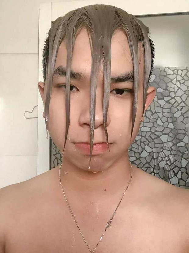 Thanh niên tạo dáng các kiểu tóc sáng tạo hòng giúp 500 anh em nổi bật hơn khi đi bơi mùa hè này - Ảnh 5.