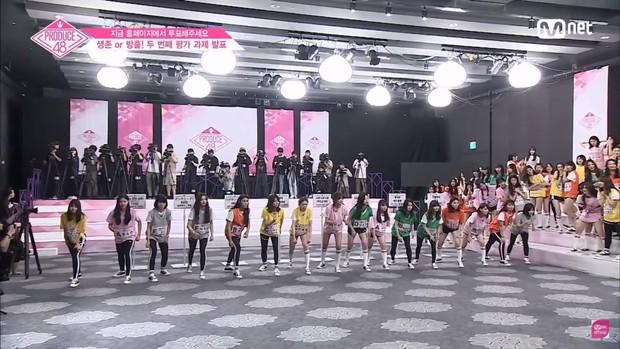 Produce 48 tập 3: Hàng loạt thí sinh bị tụt hạng sau vòng đánh giá lần 2 - Ảnh 8.