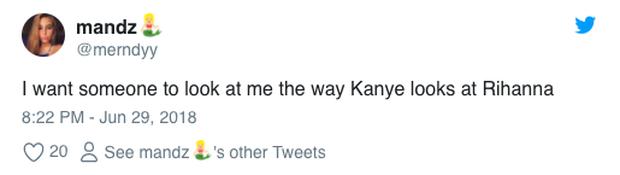 Khoảnh khắc vui gây sốt: Kim Kardashian phản ứng khi bắt gặp chồng mải mê ngắm Rihanna quá sexy - Ảnh 5.