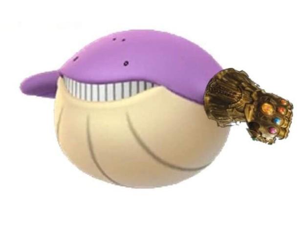 Cùng tím ngắt và sở hữu quả cằm chẻ, đây đích thị là anh em thất lạc phiên bản Pokemon của Thanos rồi! - Ảnh 4.