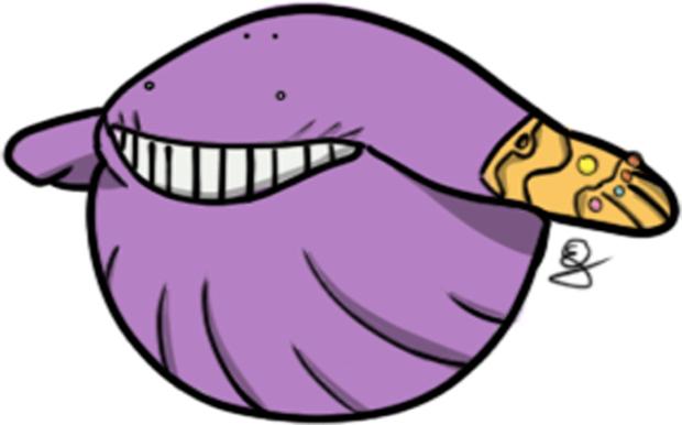 Cùng tím ngắt và sở hữu quả cằm chẻ, đây đích thị là anh em thất lạc phiên bản Pokemon của Thanos rồi! - Ảnh 7.